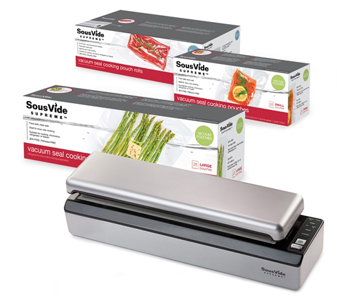 Sous Vide Sealer VS3000 + Pouches Bundle